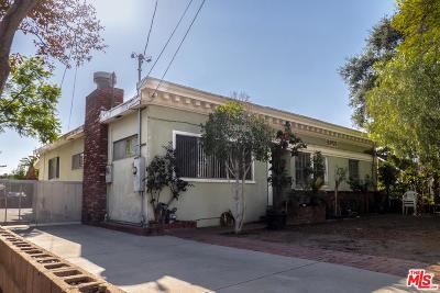 Pasadena Single Family Home Active Under Contract: 522 Del Monte Street