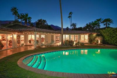 Palm Springs Single Family Home For Sale: 354 West Stevens Road