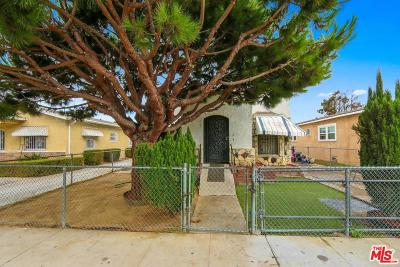Los Angeles Single Family Home For Sale: 827 East 76th Place