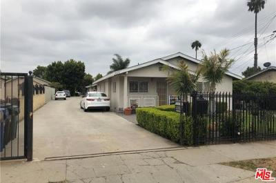 Inglewood Residential Income For Sale: 10618 Felton Avenue
