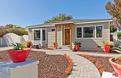 Santa Monica Single Family Home For Sale: 1351 Cedar Street