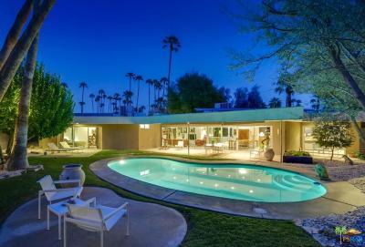 Palm Springs Single Family Home For Sale: 1515 South Manzanita Avenue