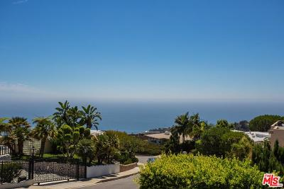 Pacific Palisades Single Family Home For Sale: 1107 Vista Grande Drive