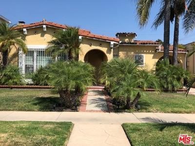 Single Family Home For Sale: 410 North Formosa Avenue