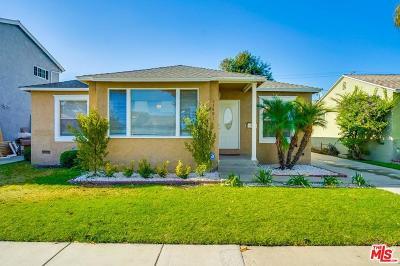 Single Family Home For Sale: 11401 McDonald Street