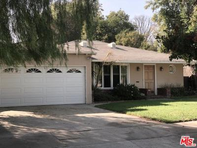 Sherman Oaks Single Family Home For Sale: 4937 Nagle Avenue