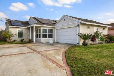 Compton Single Family Home For Sale: 1229 East 140th Street
