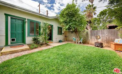 Santa Monica Single Family Home For Sale: 1012 Euclid Street