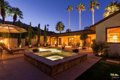 Palm Springs Single Family Home Active Under Contract: 420 West Canyon Place