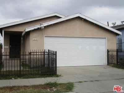 Los Angeles Single Family Home For Sale: 1115 West 67th Street