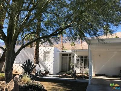 Palm Springs Condo/Townhouse For Sale: 2363 South Calle Palo Fierro