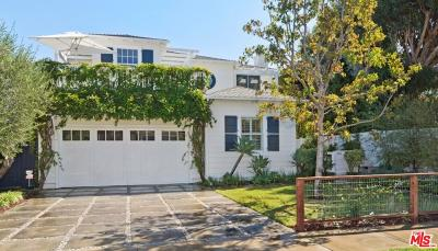 Pacific Palisades Single Family Home For Sale: 464 El Medio Avenue