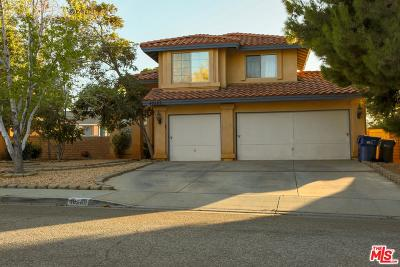 Palmdale Single Family Home For Sale: 40269 Palmetto Drive