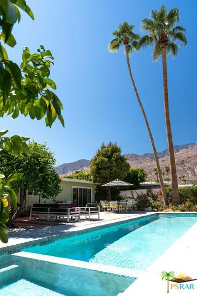Palm Springs Single Family Home For Sale: 1354 East San Lucas Road