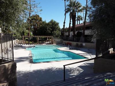 Palm Springs Condo/Townhouse For Sale: 2857 North Los Felices Road #117