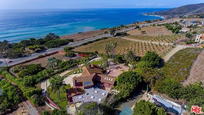 Malibu Single Family Home For Sale: 33961 Pacific Coast Highway