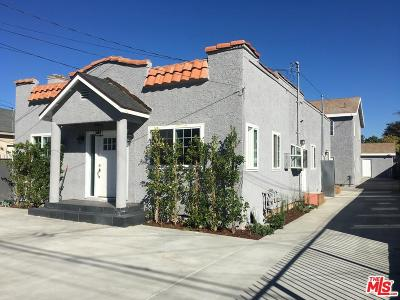 Inglewood Residential Income For Sale: 3629 West 107th Street