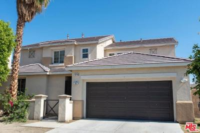 Coachella Single Family Home Active Under Contract: 49188 Pluma Gris Place
