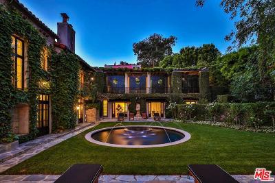 Beverly Hills Rental For Rent: 1120 La Collina Drive