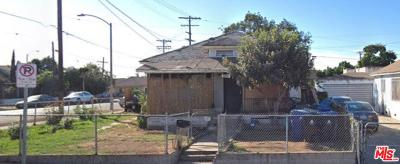 Los Angeles Single Family Home For Sale: 3052 North Folsom Street