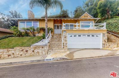 Los Angeles CA Single Family Home For Sale: $1,275,000