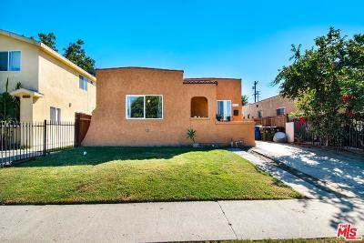 Los Angeles Single Family Home For Sale: 910 East 84th Place