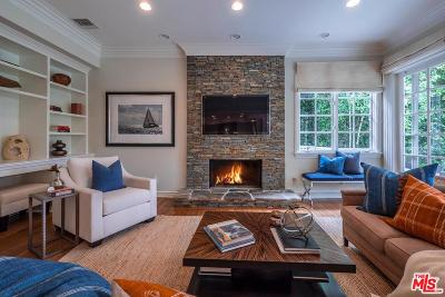 Pacific Palisades Single Family Home For Sale: 825 Alma Real Drive