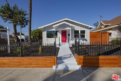 Los Angeles Single Family Home For Sale: 1257 West 49th Street