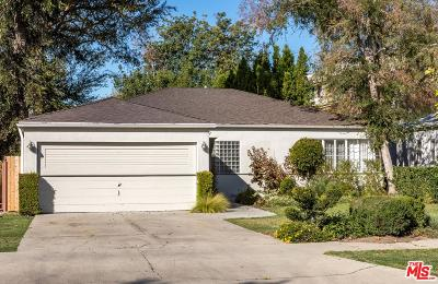 Studio City Single Family Home Sold: 4339 Vantage Avenue