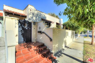Los Angeles County Residential Income For Sale: 4170 Ince Boulevard