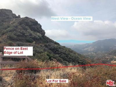 Malibu Residential Lots & Land For Sale: Mulholland Highway
