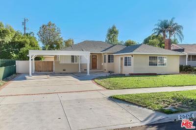 Winnetka Single Family Home For Sale: 20416 Lanark Street