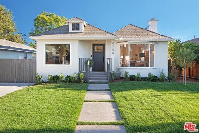 Burbank Single Family Home For Sale: 2206 West Clark Avenue
