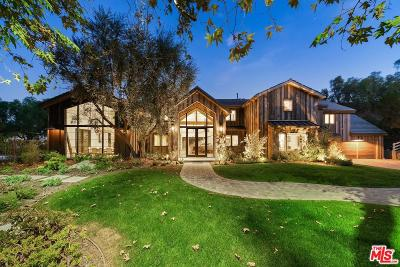 Hidden Hills Single Family Home Active Under Contract: 5207 Saddle Creek Road