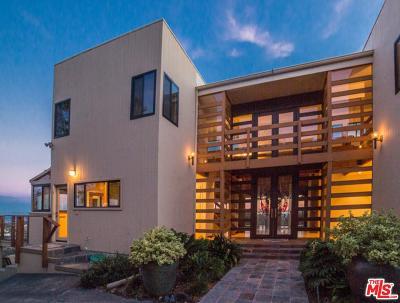 Topanga Single Family Home For Sale: 21629 Saddle Peak Road