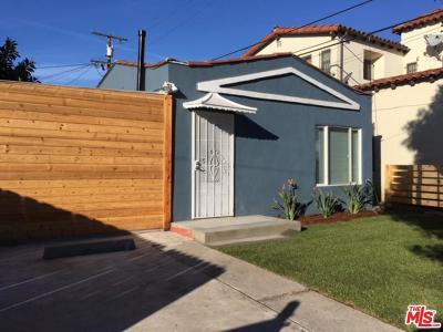 Inglewood Single Family Home Sold: 1011 Long Street