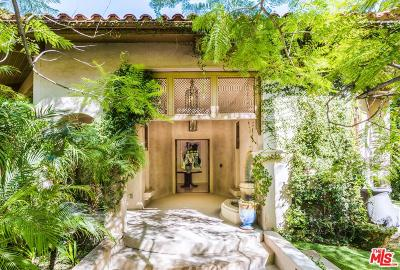 Los Angeles County Single Family Home For Sale: 7651 Willow Glen Road