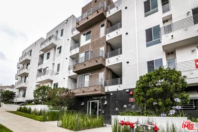 Los Angeles Condo/Townhouse For Sale: 1101 South Harvard Boulevard #201