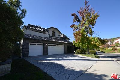 Agoura Hills Single Family Home For Sale: 6043 Rainbow Hill Road