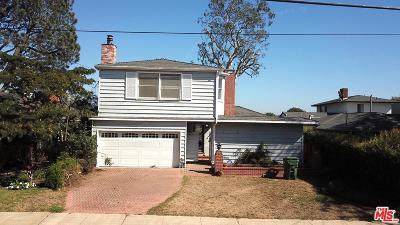 Pacific Palisades Single Family Home For Sale: 15313 De Pauw Street