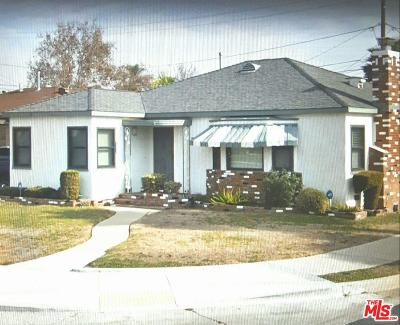 Inglewood Single Family Home For Sale: 8720 South 11th Avenue