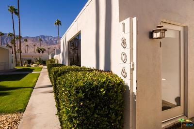 Palm Springs Condo/Townhouse For Sale: 1806 Sandcliff Road