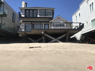 Malibu Single Family Home For Sale: 21818 Pacific Coast Highway