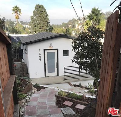 Single Family Home For Sale: 1637 Delta Street