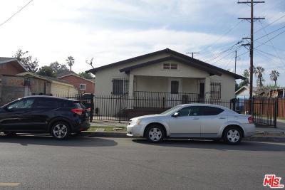 Single Family Home For Sale: 4713 Ascot Avenue
