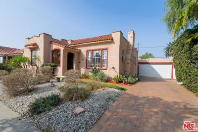 Mid Los Angeles (C16) Single Family Home For Sale: 1637 South Curson Avenue