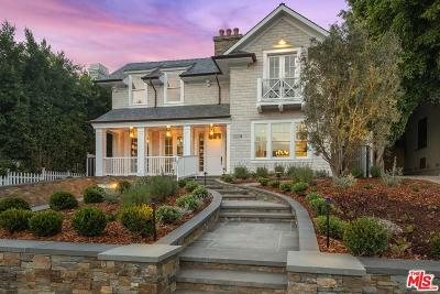Pacific Palisades Single Family Home For Sale: 1119 Monument Street