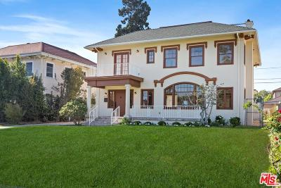 Los Angeles Single Family Home Active Under Contract: 2109 Wellington Road