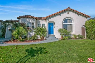 Mid Los Angeles (C16) Single Family Home For Sale: 1737 South Marvin Avenue