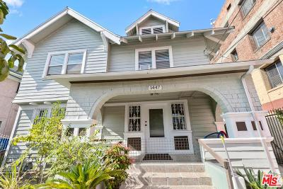 Single Family Home For Sale: 1447 South Bonnie Brae Street